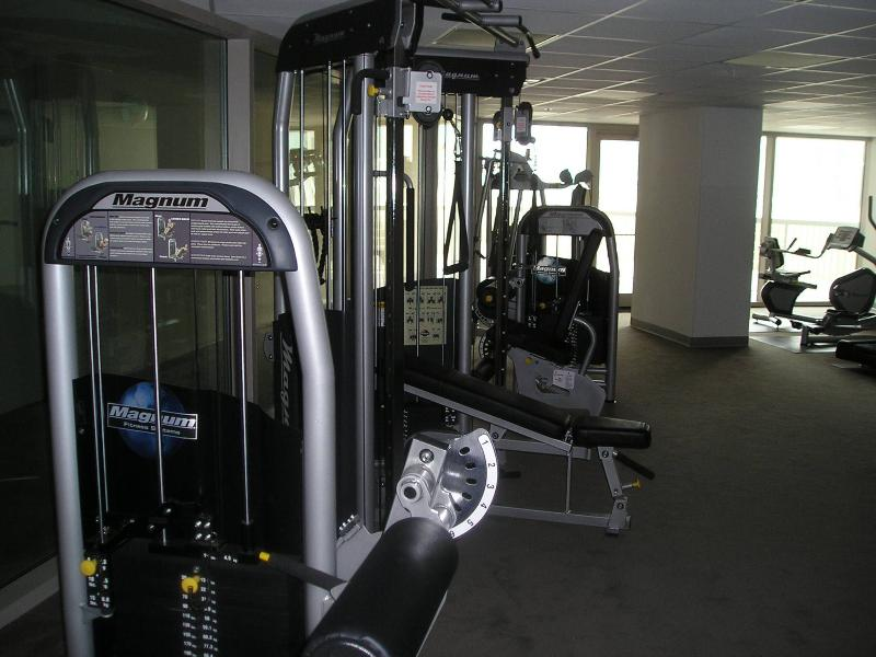 Exercise Room - overlooking the Beach
