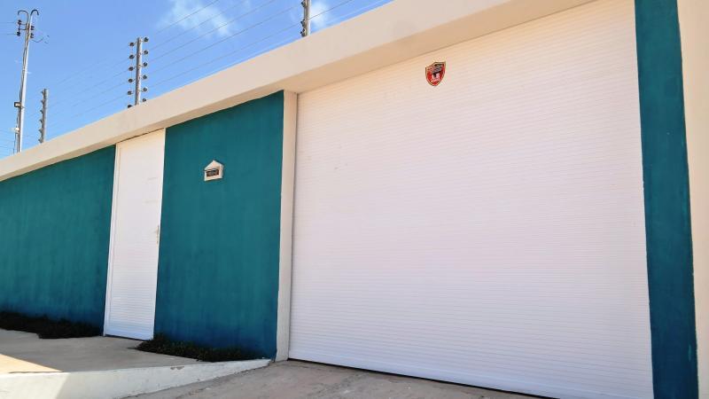Entrada - Casa de Veraneio (temporada) Parnaíba, Piauí, Brasil.