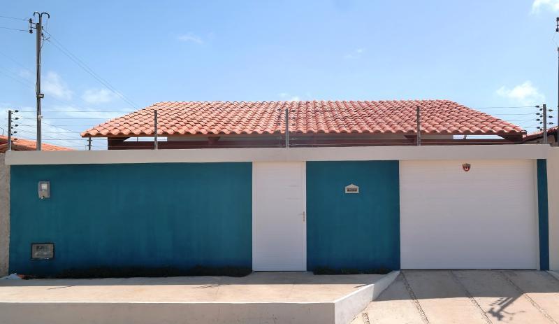 Fachada - Casa de Veraneio (temporada) Parnaíba, Piauí, Brasil.