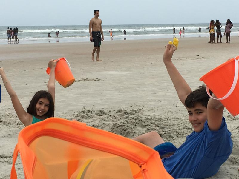 Family friendly beach destination.   Your family will love staying at our home!