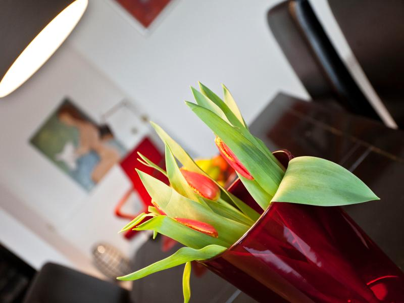 always fresh flowers for our guests!