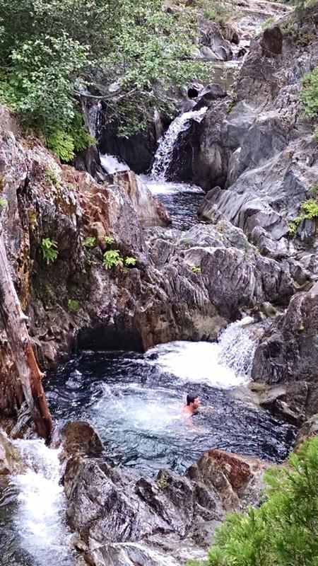 Unnamed Falls - Johnsville