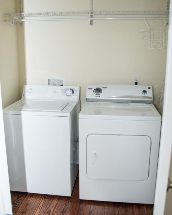 Second Floor Washer & Dryer