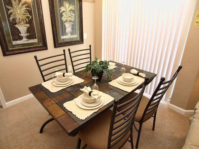 Dine in Luxury around the Stone Top Table