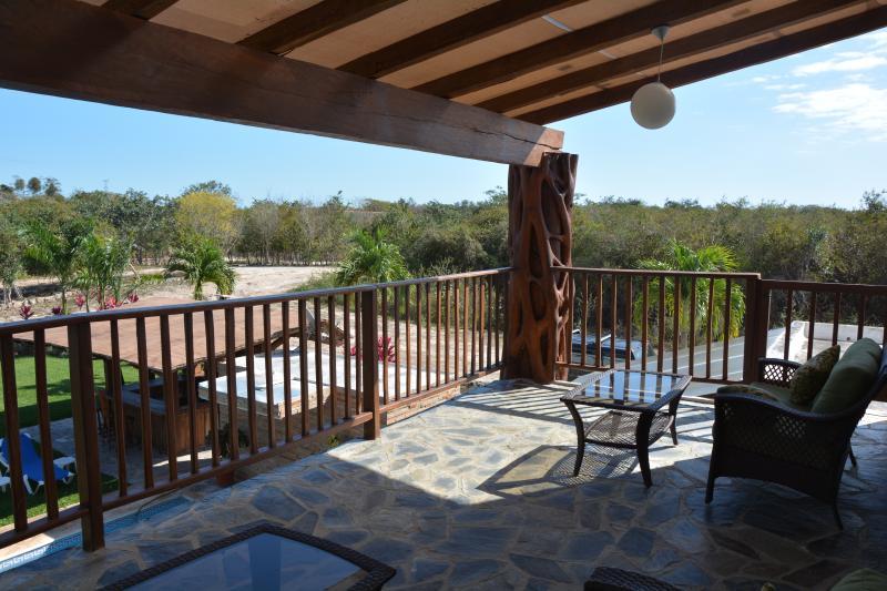 Vista terraza Master Suite