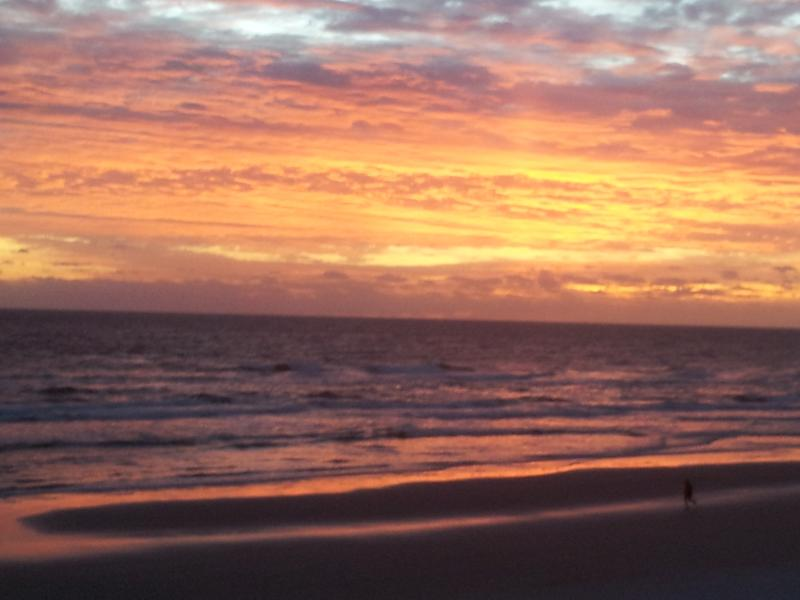 Beautiful view of New Smyrna Beach sunrises.