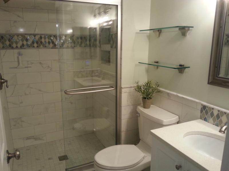 Hall Bath - new in 2015
