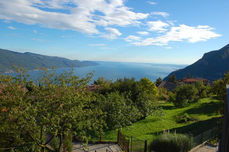View of Garda Lake from the house