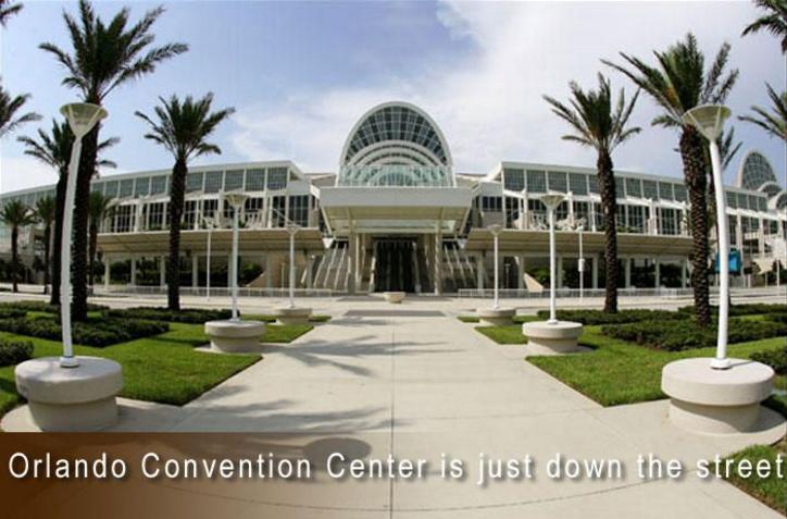 Convention center adjacent to Vista Cay Resort. Walking Distance.
