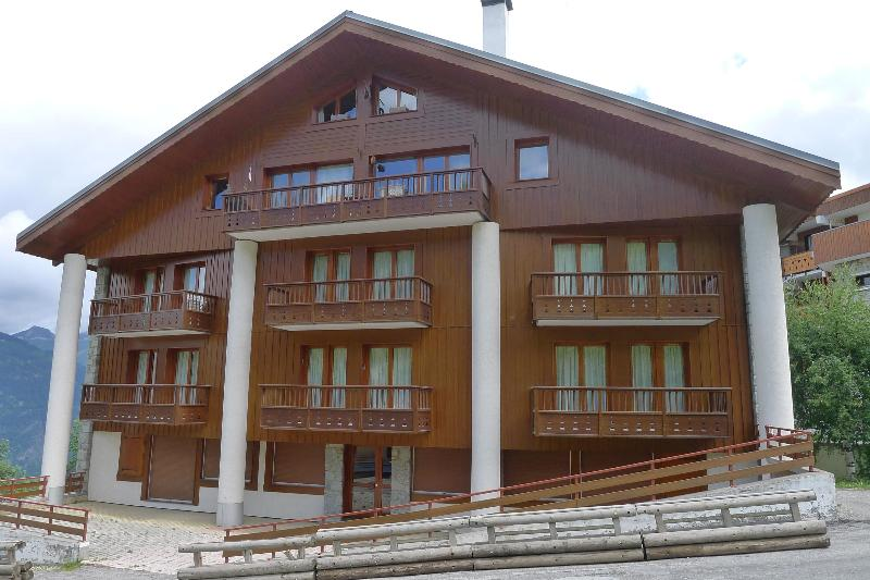 Apartment Nice Wood Chalet in Courchevel