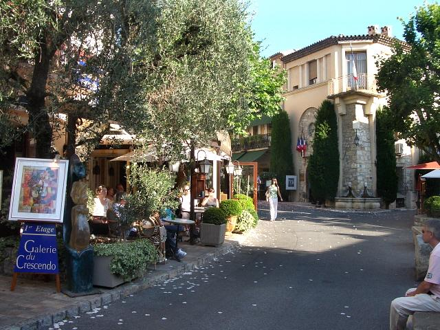 Take a stroll up to Old Mougins Village, the gastronomic capital of the Riviera