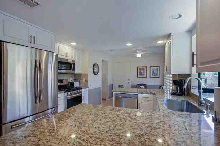 Cook up a Culinary Delight in the newly remodeled Kitchen with Breakfast Bar