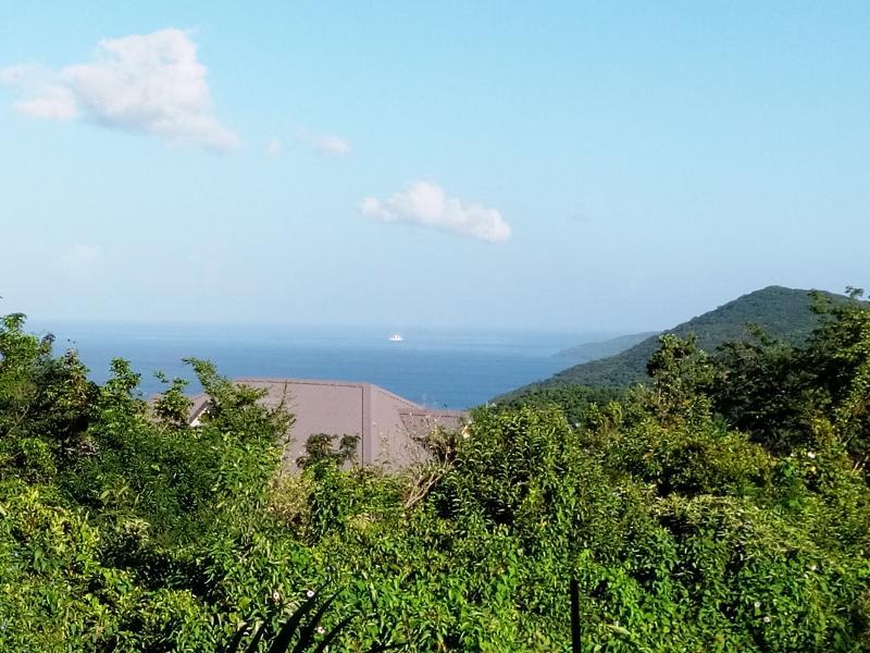 Vue Mer des Caraibes