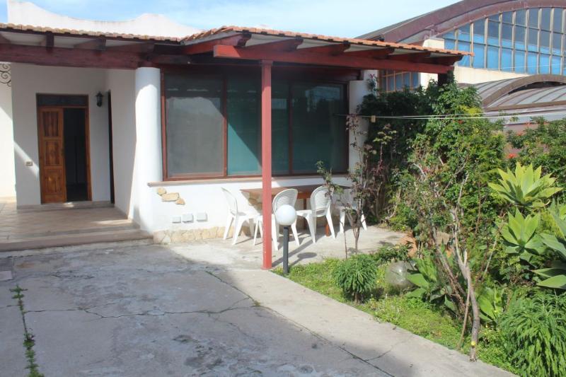 cortile e terrazza