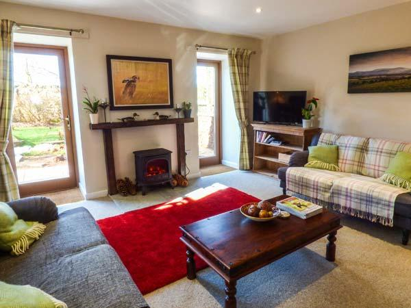 THE GARDEN HOUSE romantic, converted stable, farm location, en-suite in, vacation rental in Chirnside