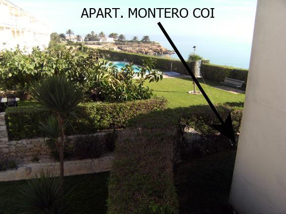 APART. MONTERO COI - APART. CON PISCINA FRENTE AL MAR EN PLANTA BAJA, aluguéis de temporada em Vinaros