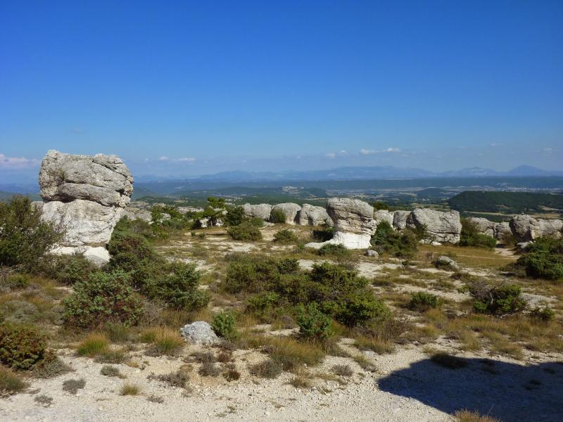 Walking distance to a beautiful site 'Les Mourres'