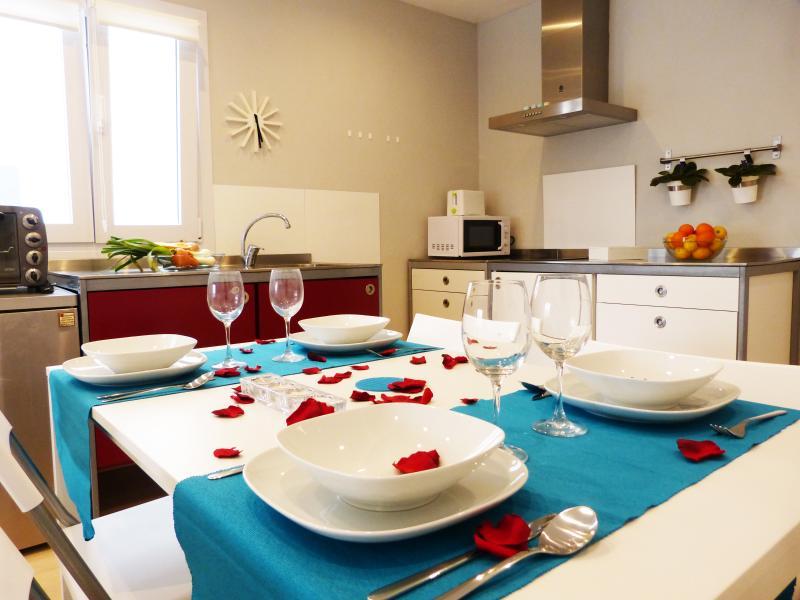Si quieres, será tu espacio para cocinar, desayunar, comer, cenar...