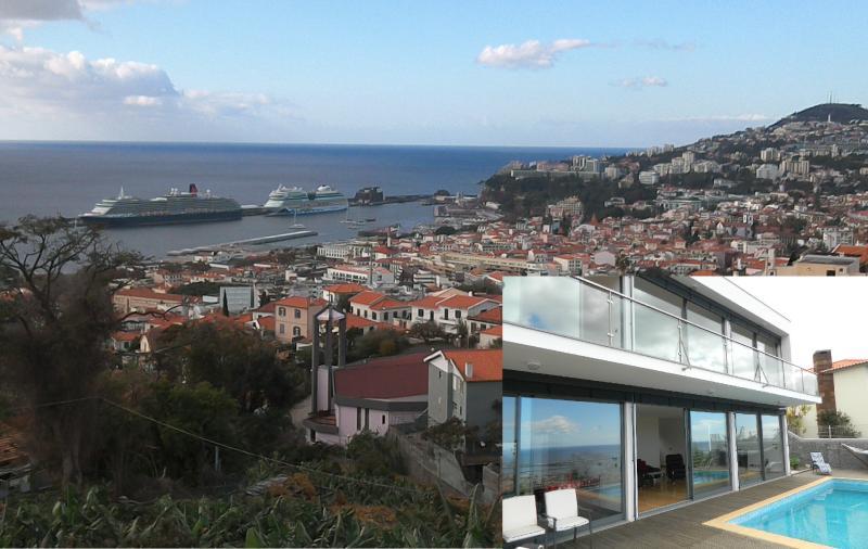 Best views of Funchal. Villa Boa Vista. Luxury 3 bedroom villa and Heated Pool., location de vacances à Funchal