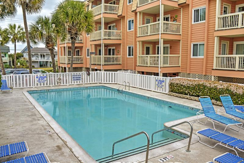 You'll simply adore this Garden City Beach vacation rental condo.