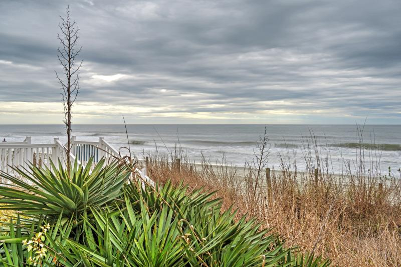 Come see what's in store for you at this Garden City Beach vacation rental condo!