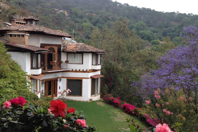 Vista principal de la casa