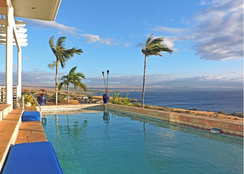 House Of Singing Whales - Panoramic Ocean 3bd Home, Huge Lanai, Private Pool/Spa, vacation rental in Hawi