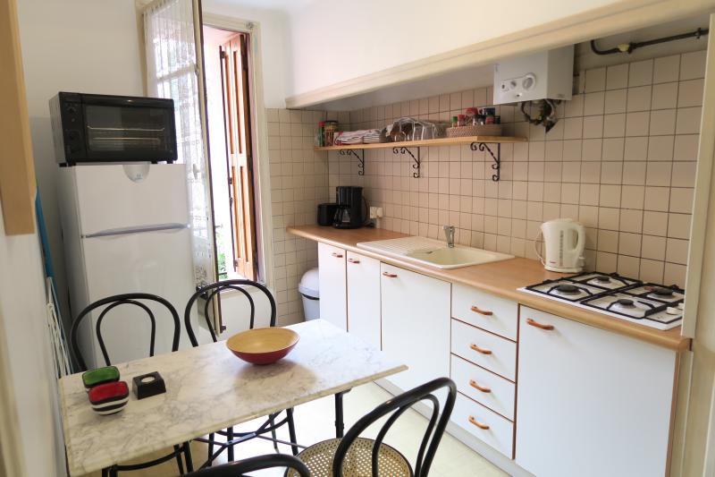 Smaller kitchen at ground level