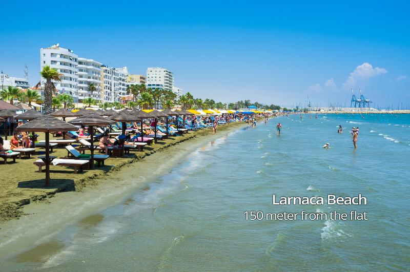 Wonderful Seaview Apartment (406) – semesterbostad i Livadia