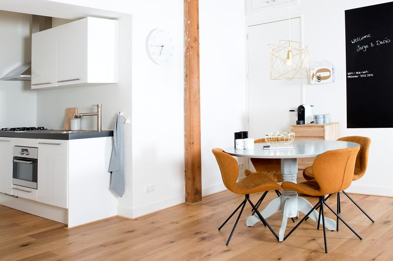 Kitchen + Dining corner