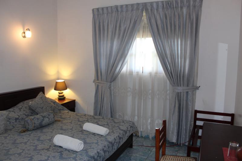 King bed of the terrace view room