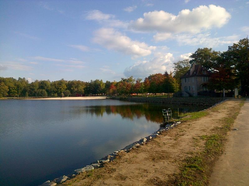 Local swimming lake