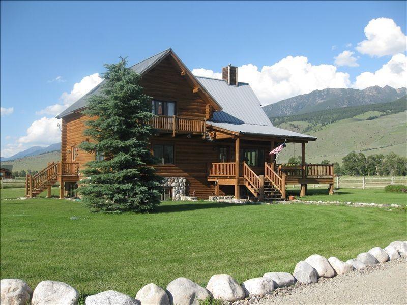 The Main Log Home