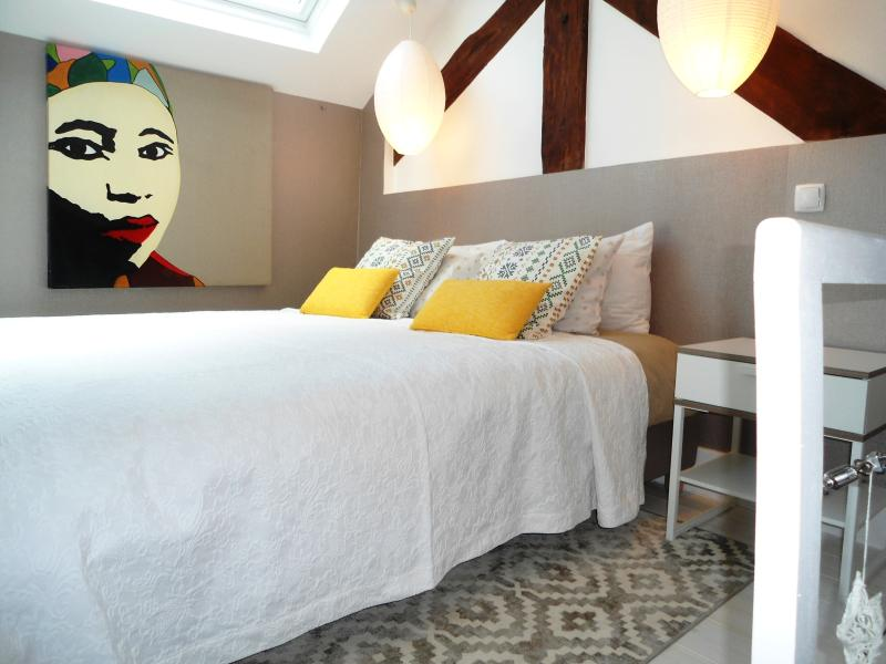 Studio 78 with charming mezzanine sleeps 4-5 terrace bathroom with window huge living room