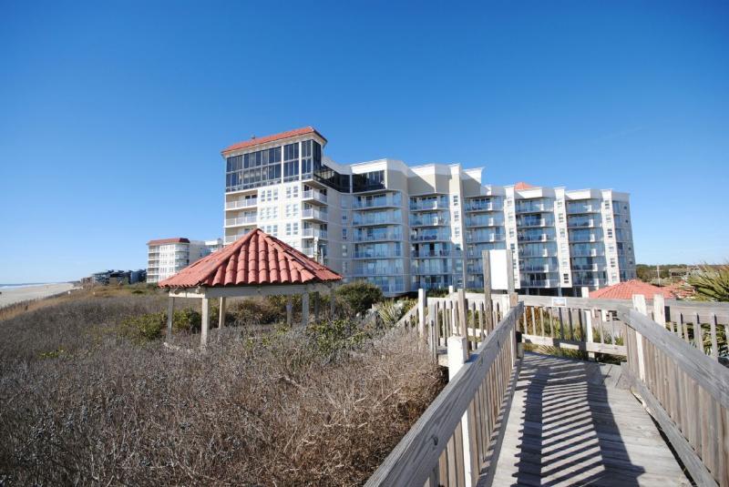 View of Resort from Oceanfront Gazebo
