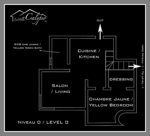 Map of upstairs
