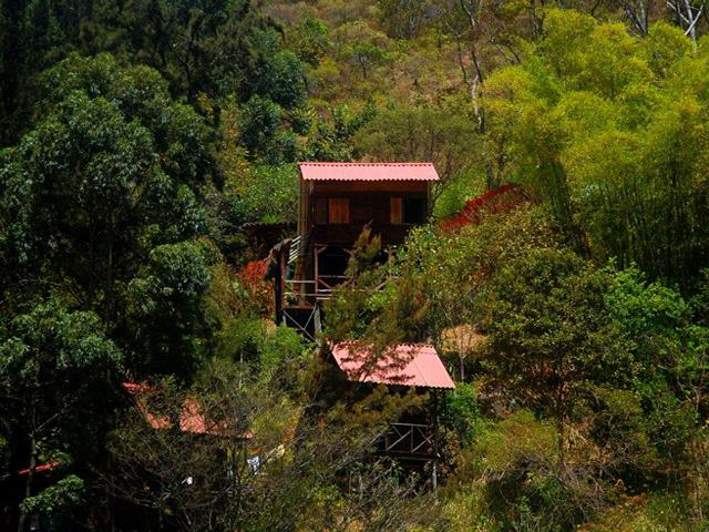 Vilcabamba Ecuador The Eagle's Lair and Nests, overlooking the Rio Yambala Valley