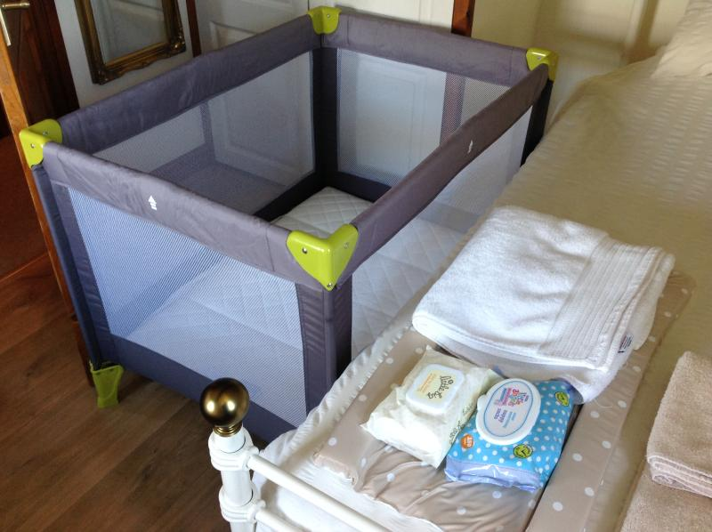 Happy to accommodate little ones; cot, high chair,changing mat etc available.