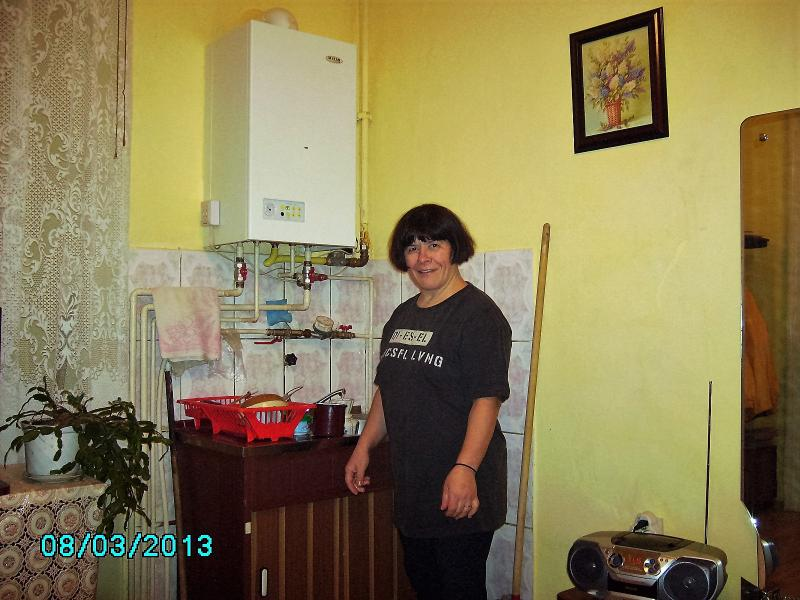 Palace Karl&Michael von Bruckenthal cook and cleaning lady Mihaela