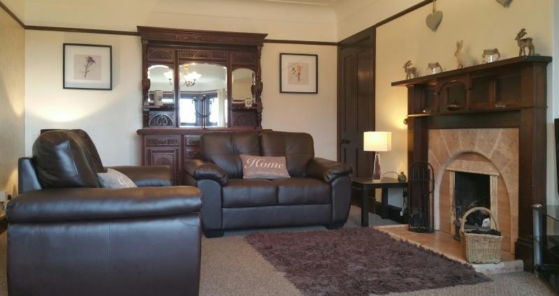 Large lounge.
