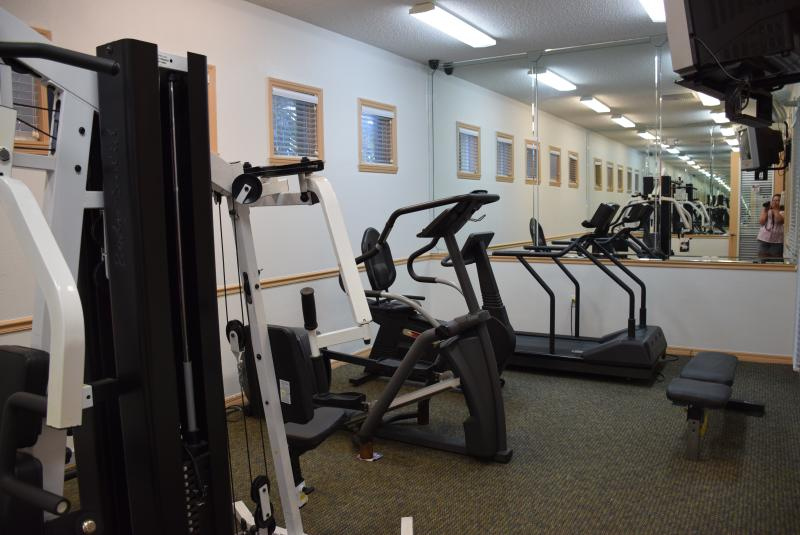 Exercise room in main club house.