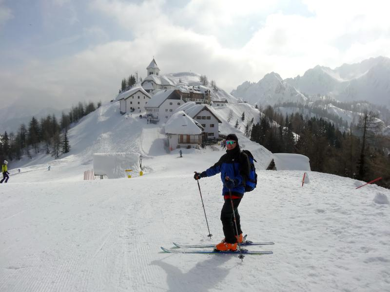 Monte Lussari in Tarvisio is one of the most attractive destinations for hikers.