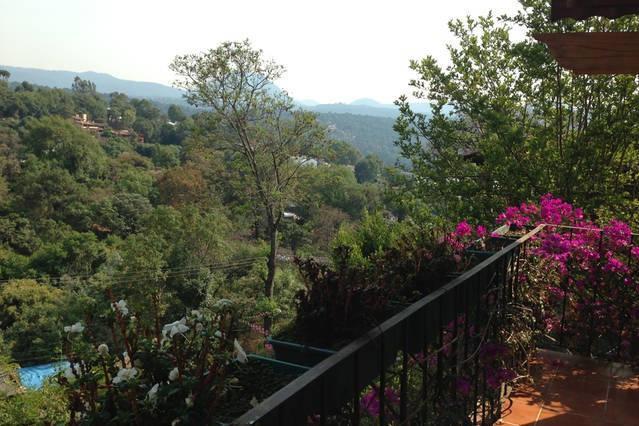 Vista desde el balcón en la planta baja