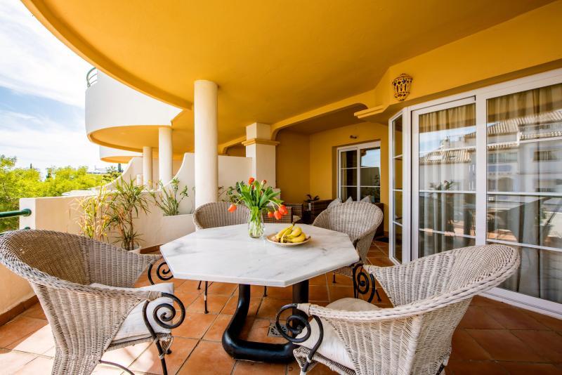 Luxurious terrace