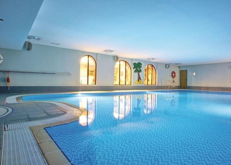 The wonderful heated indoor pool (with adults only time as well as time for families); open all year