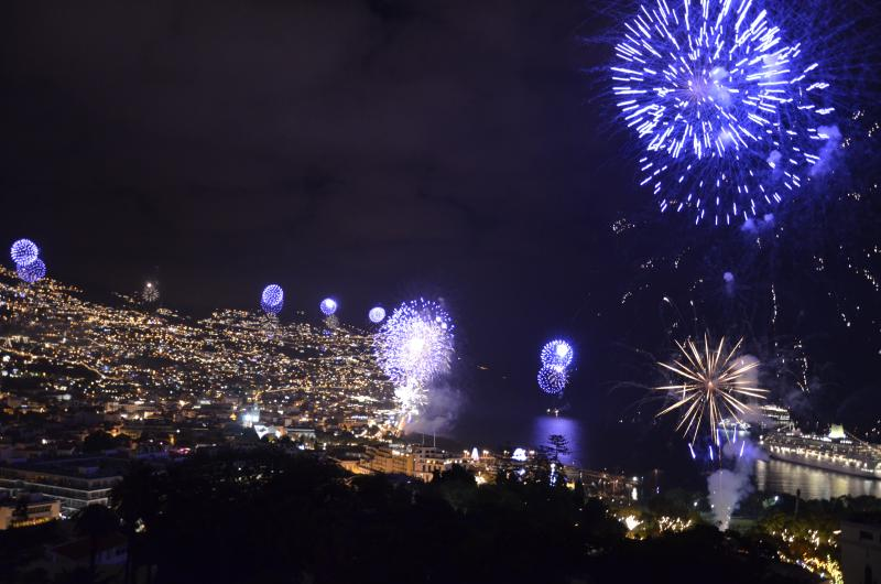 Fireworks in Funchal