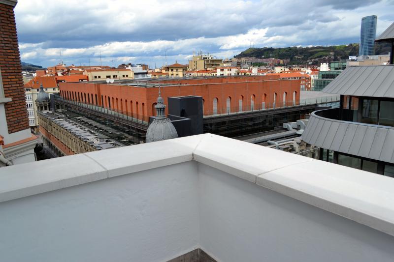 Die Terrasse, ideal zum sonnenbaden