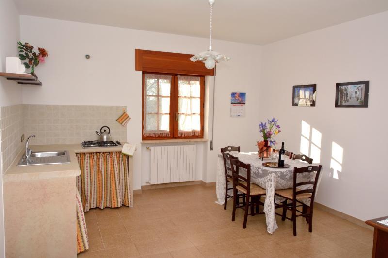 Cucina-Soggiorno casa 'Oleandro'