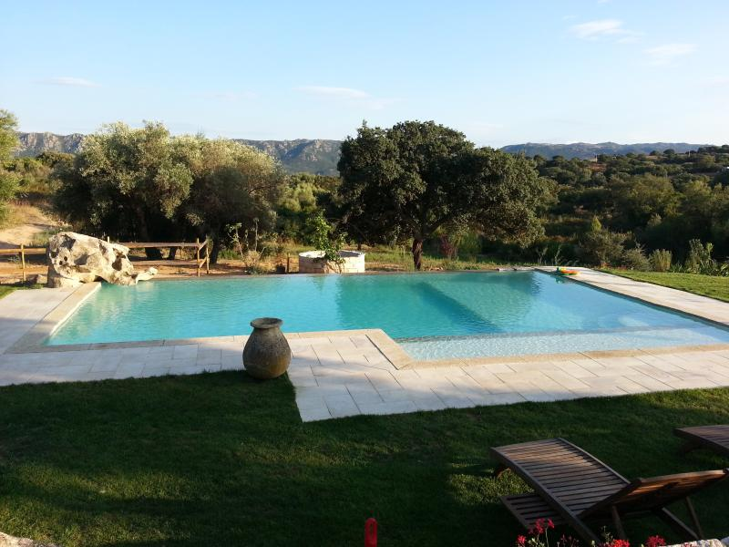 Ancient house with pool, sea and countryside, holiday rental in Telti