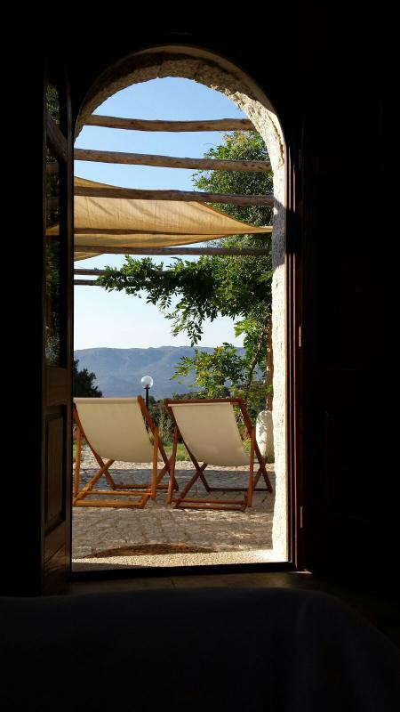 B&B Isole di pietra: view from  a window